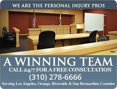 winning personal injury team